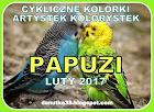 CYKLICZNE KOLORKI- LUTY 2017