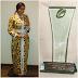 Actress Chika Ike rocks $5,000 Amal Azhari dress African Entrepreneur Awards in London