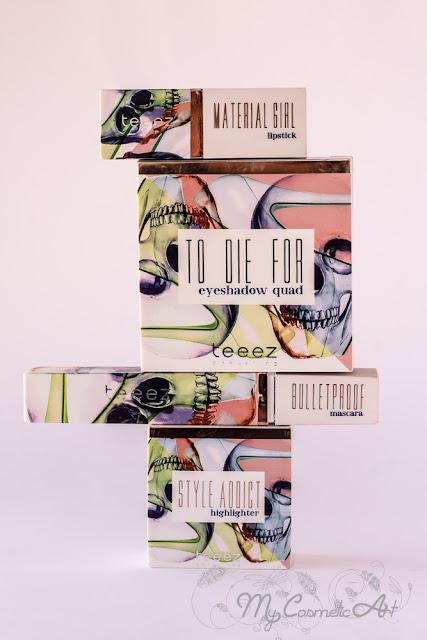 Fashion Vendetta, la última colección de maquillaje de Teeez.
