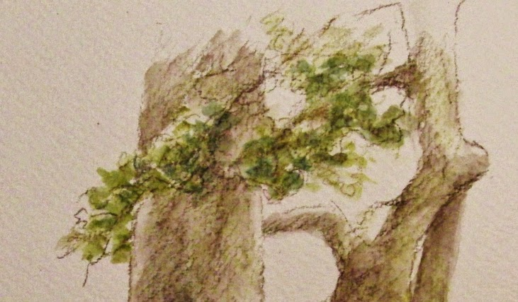 aquarelpotlood, kleurstudies, aquarel, plein air, buitentekenen, waterverf