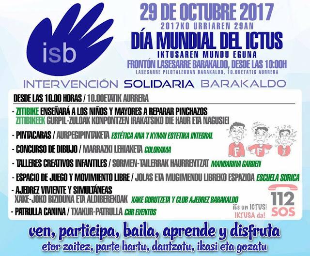 Cartel del acto organizado por la oenegé ISB