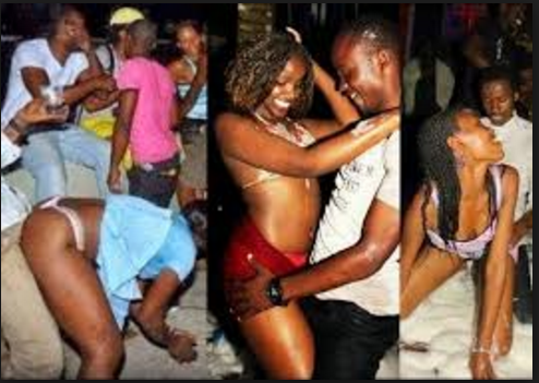 naked nigerian girls in clubs