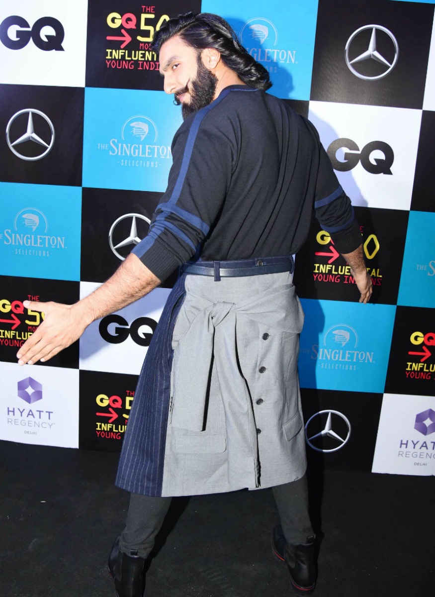 Ranveer Singh at GQ India's 'The 50 Most Influential Young Indians of 2017' Event