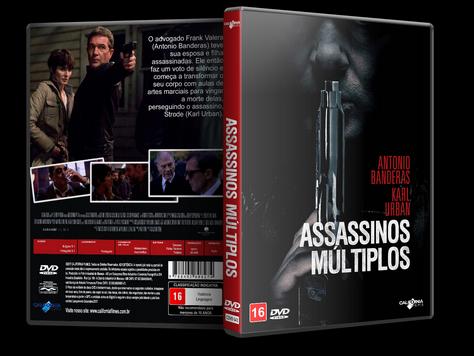 Capa DVD Assassinos Múltiplos [Exclusiva]