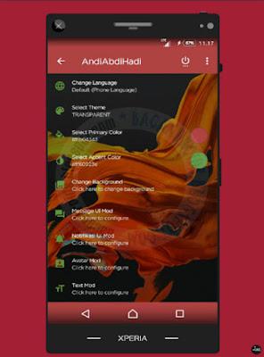 A BBM Mod Style v3.3.1.24 Apk Latest Android