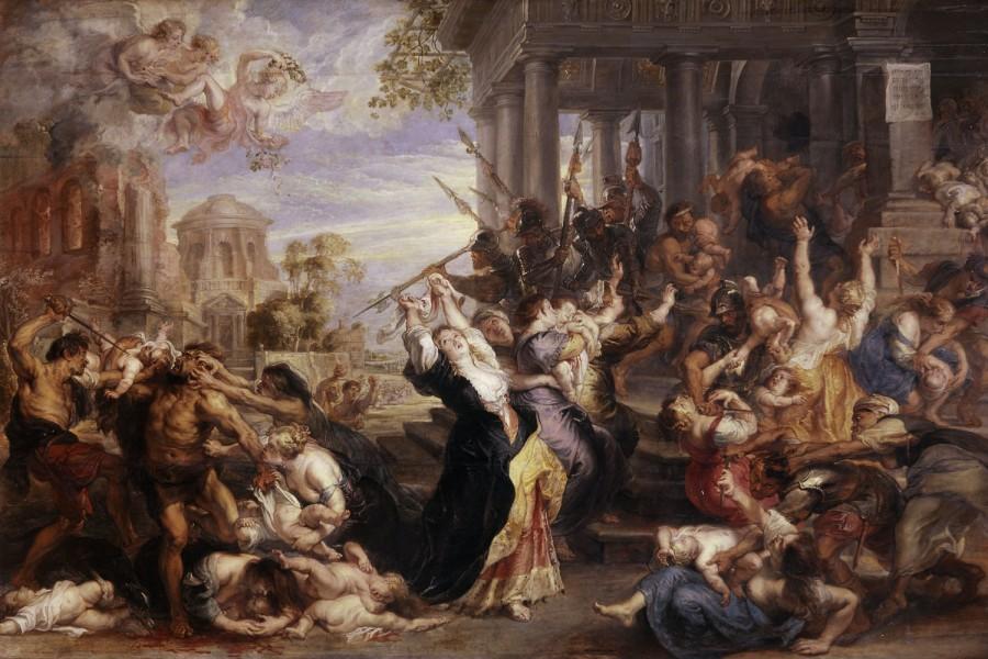 Massacre dos Inocentes - Pinturas com temas tirado da bíblia