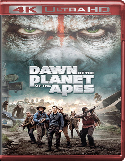 Dawn Of The Planet Of The Apes [2014] [UHD] [2160p] [Latino – Castellano]