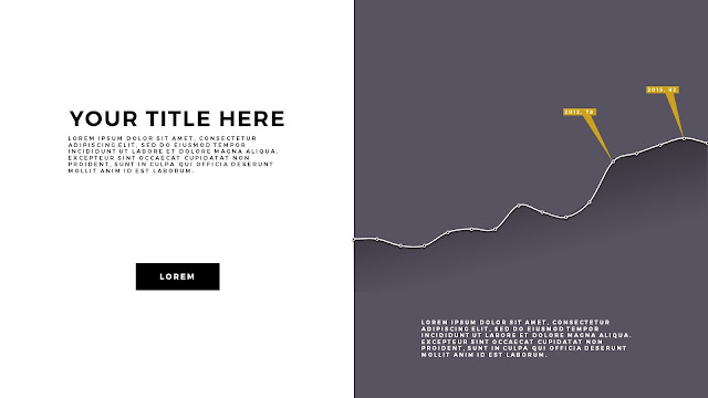Free Infographic PowerPoint Template with Editable Data chart Slide 1