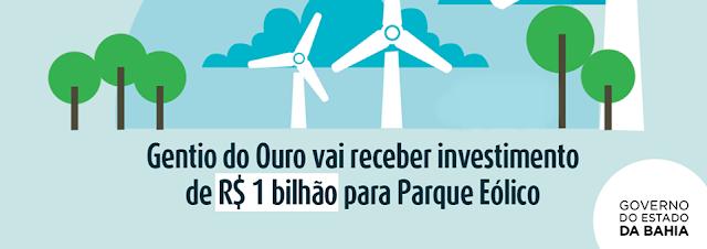 PEC Energia anuncia investimento de R$ 1 bilhão em Gentio do Ouro