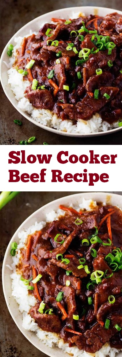 Slow Cooker Beef Recipe | recipes slow cooker | recipes beef | recipes crockpot | recipes dinner #slowcooker #beef #crockpot #dinner