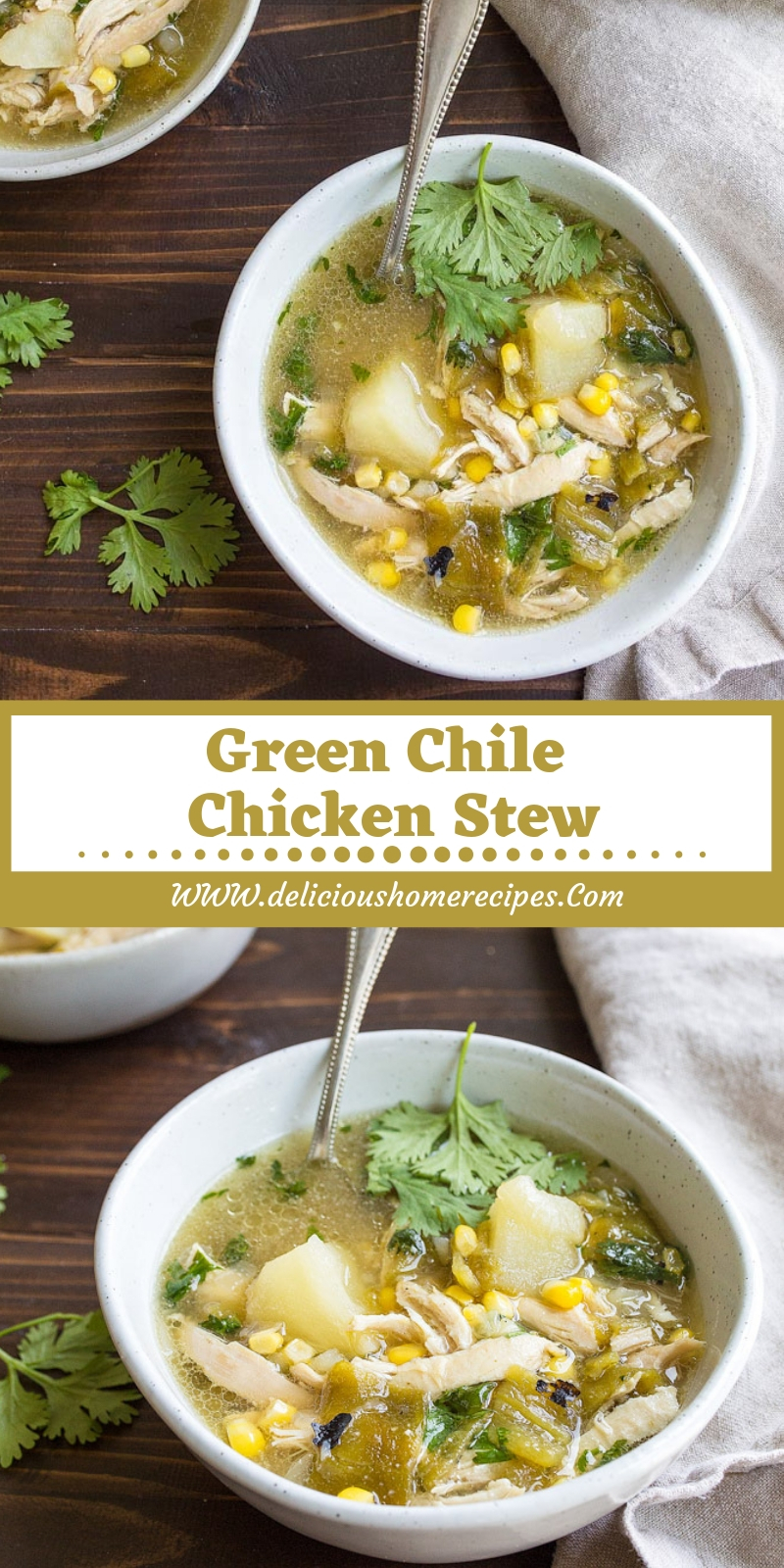 Green Chile Chicken Stew