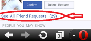 How to check Sent Friend Request on Facebook