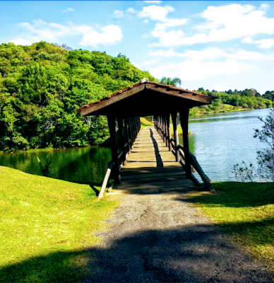 Parque Municipal do Passaúna em Curitiba/PR – Natureza, prainha e lago