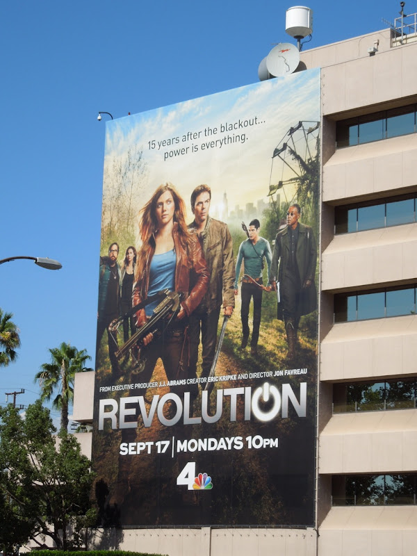 Giant Revolution billboard
