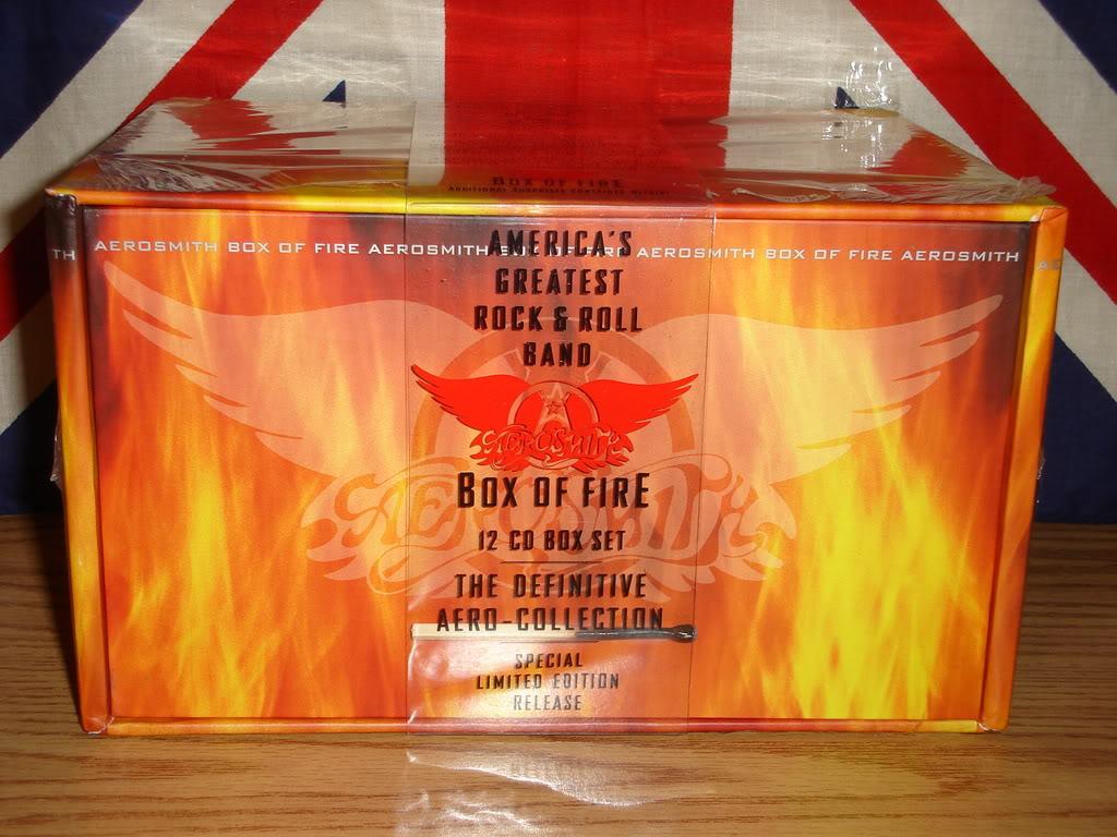 Box Set Collections Aerosmith Box Of Fire 13 Cds