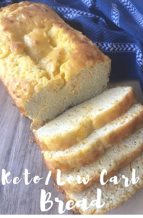 Keto/Low Carb Loaf Bread