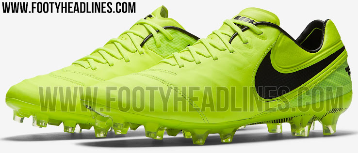 Cambiable usuario Facultad  Volt Nike Tiempo Legend VI Radiation Flare 2017 Boots Revealed - Footy  Headlines