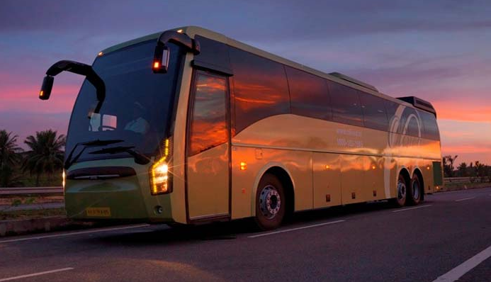 Indian Luxury Buses Olivea Volvo Bus Review Fare And