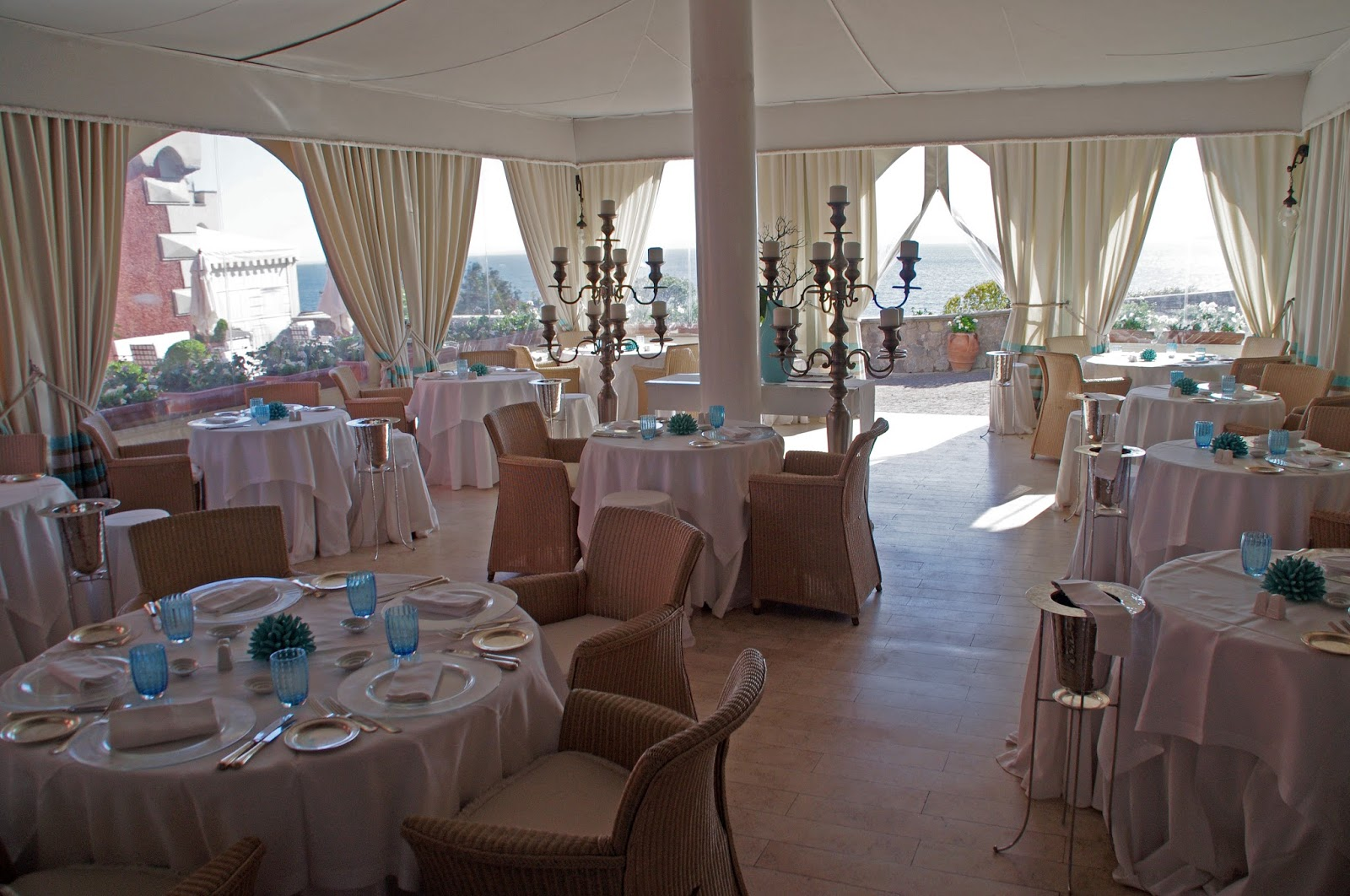 Returning to mezzatorre resort spa an island paradise on ischia the resorts two beautiful restaurants chandelier and sciu sciu draw inspiration from the rich gastronomical culture of ischia creating unique dishes arubaitofo Gallery