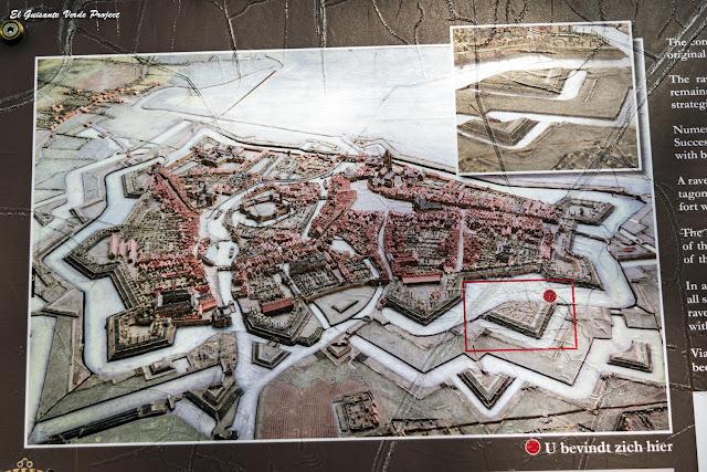 Plano Antiguos Canales de Oudenaarde por El Guisante Verde Project