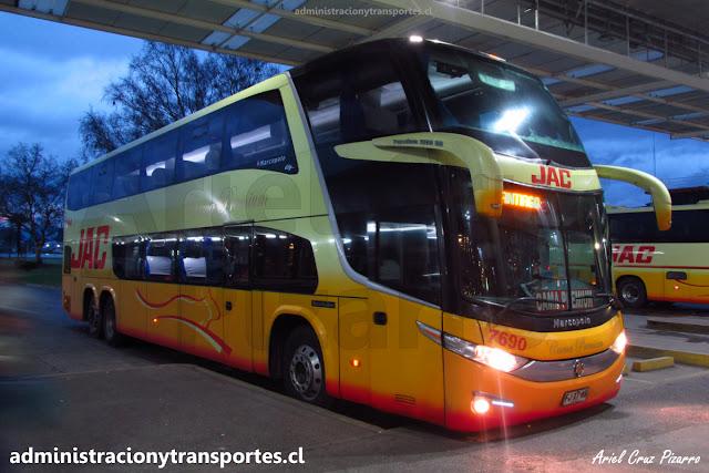 Bus Cama Premium de Jac en Valdivia