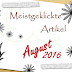 [Monatsrückblick] Meistgeklickte Artikel ~ August 2016