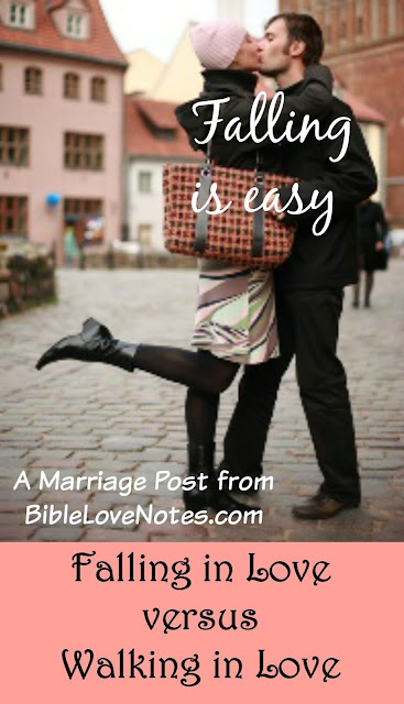Christian marriage, Falling in love is easy