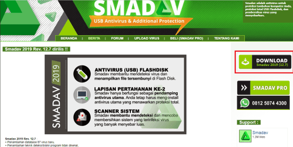 Instal Smadav