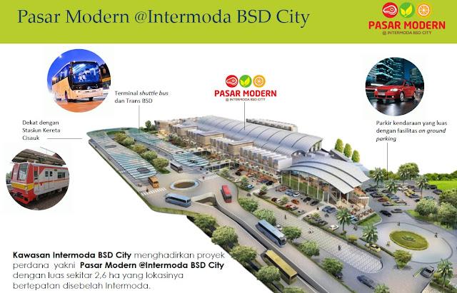 Pasar modern 2 intermoda bsd
