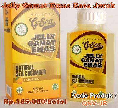 Jelly Gamat Emas Rasa Jeruk