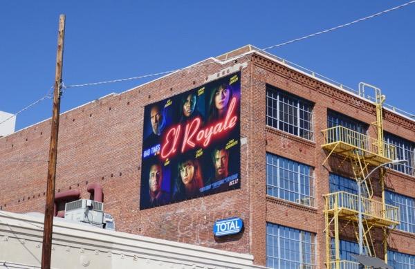 Bad Times El Royale billboard