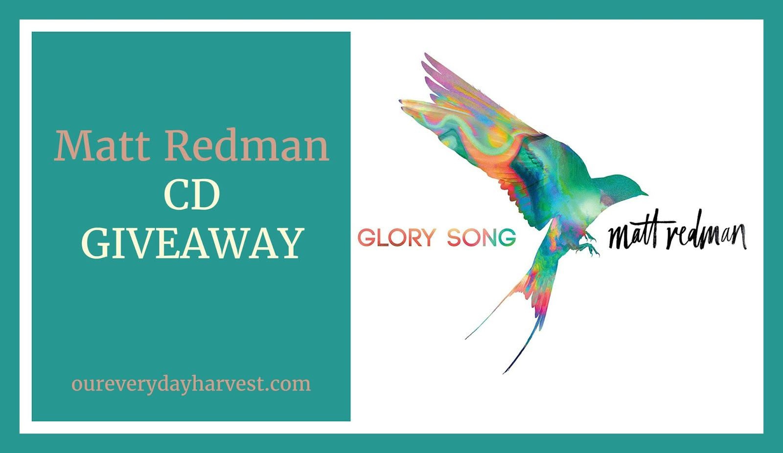 matt redman simple pursuit / glory song