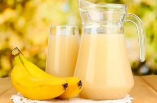 Le jus de banane et de pomme de terre pour traiter l'ulcère de l'estomac