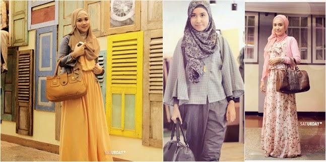 Tips Memilih Model Baju Hijab Untuk Orang Gemuk