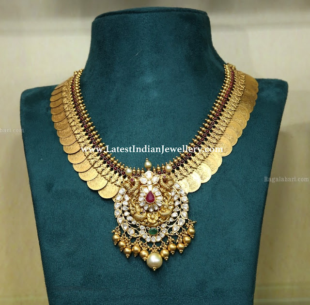 Kasu Necklace Detachable Pendant