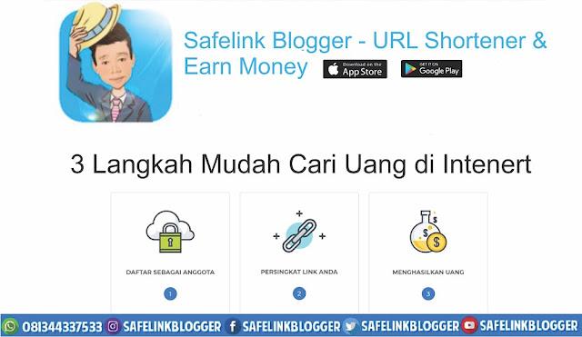 Safelink Blogger | URL Shortener And Earn Money
