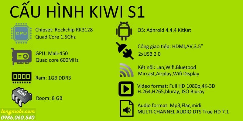 Cấu hình chi tiết KIWI S1
