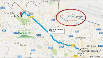 Vé xe đi sapa từ sân Bay Nội Bài
