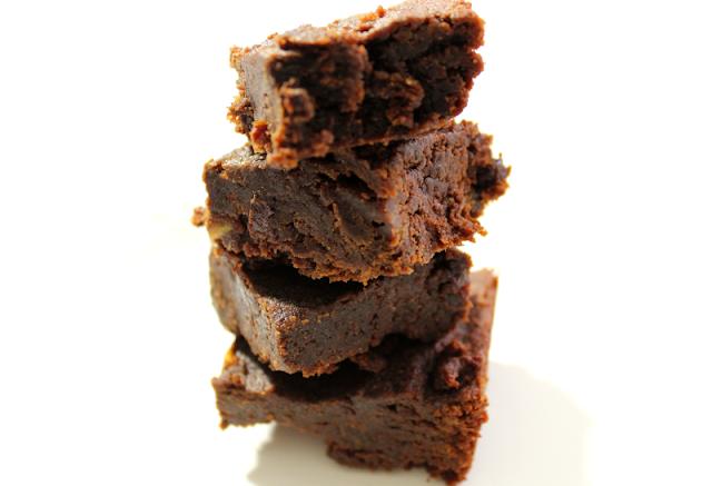 Chickpea Tahini Brownies