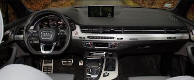 Audi SQ7 4x4 7 places tableau de bord