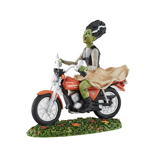 http://www.adventureharley.com/harley-davidson-run-away-bride-snow-village-halloween/