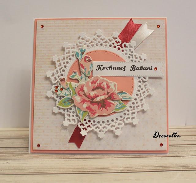 Kartka dla babci, kartka dla dziadka