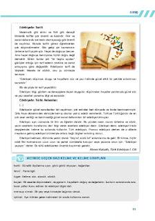 9. Sınıf Türk Dili ve Edebiyatı Ders Kitabı Cevapları Sonuç Yayınları Sayfa 11