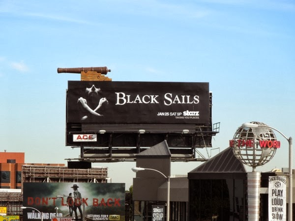 Special Black Sails cannon billboard