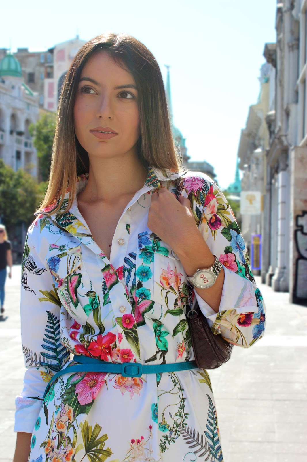 Am Katarina Model my last summer street style outfit - katarina bojovic
