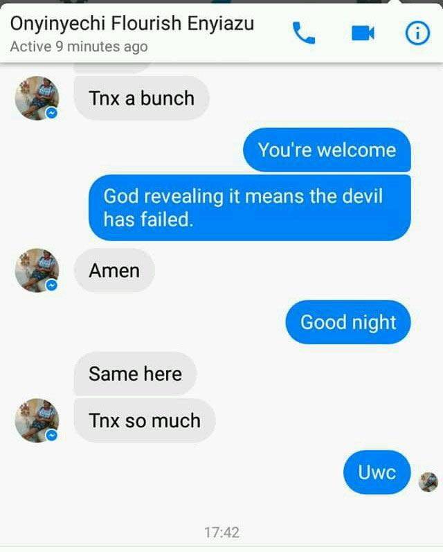 Lady dies after Facebook friend saw her die in a dream