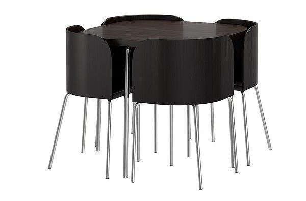 Mesas y sillas de cocina impresionantes para un hogar - Mesas y sillas de cocina de diseno ...