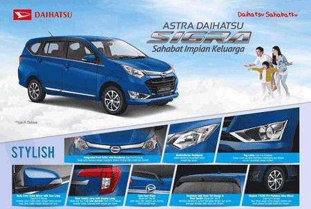 Promo Daihatsu Sigra Jaksel 2018