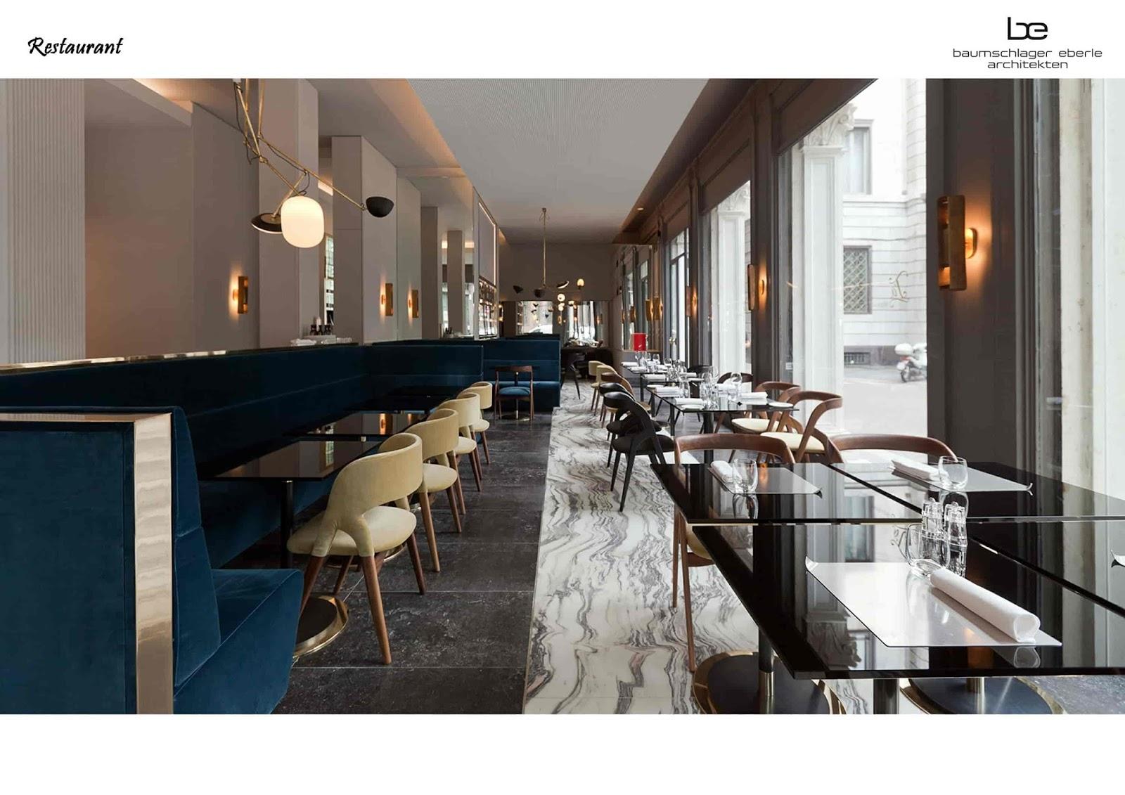 Nhà hàng 5 sao với đầy đủ các món ăn Âu - Á