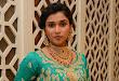 Mannara Chopra dazzling look at wedding vows event